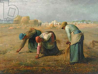 The Gleaners, 1857 (oil on canvas)
