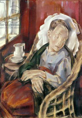 The Convalescent, 1930 (pastel on card)