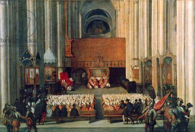 The Council of Trent, 4th December 1563 (oil on canvas)