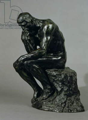 The Thinker (Le Penseur) (bronze)