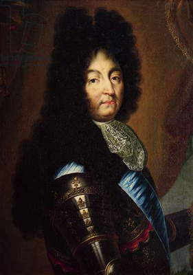Louis XIV (1638-1715) (oil on canvas)
