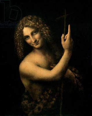 St. John the Baptist, 1513-16 (oil on canvas)