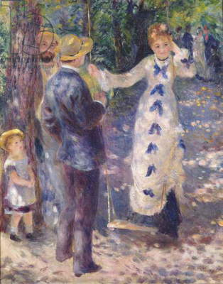The Swing, 1876 (oil on canvas)