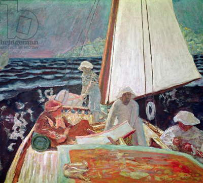 Signac and his Friends Sailing, 1924-25 (oil on canvas)