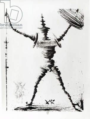 Don Quixote (litho)