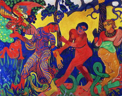 The Dance, 1906 (oil on canvas)