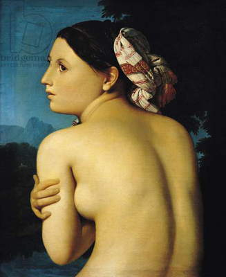 Female nude, 1807 (oil on canvas)