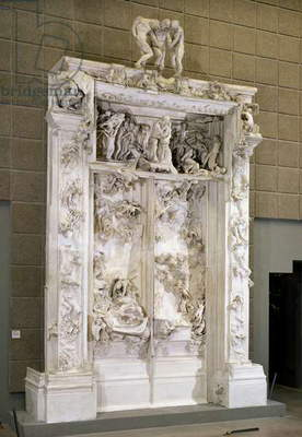 The Gates of Hell (plaster)