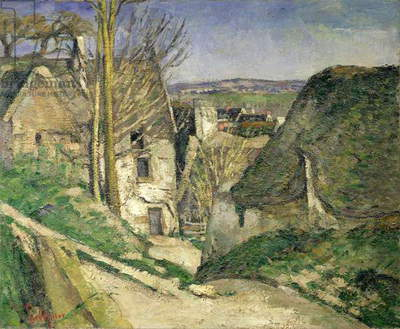 The House of the Hanged Man, Auvers-sur-Oise, 1873 (oil on canvas) (for details see 67878 & 67879)