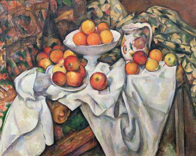 Apples and Oranges, 1895-1900 (oil on canvas)