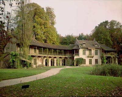 The Hameau of Marie-Antoinette (1755-93), built in 1783-86 (photo)