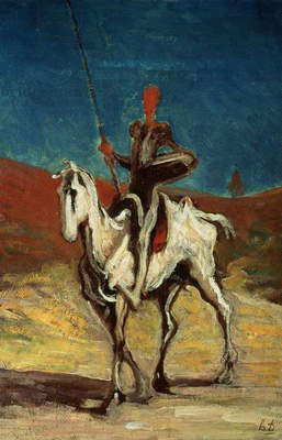 Don Quixote, c.1865-1870 (oil on canvas)