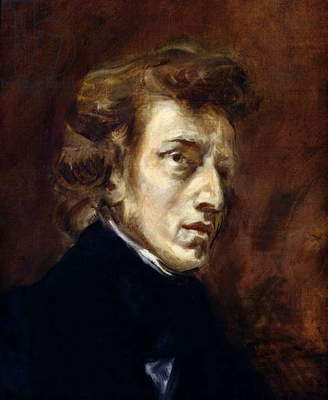 Frederic Chopin (1810-49) 1838 (oil on canvas)