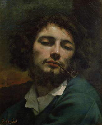 Self Portrait or, The Man with a Pipe, c.1846 (oil on canvas)