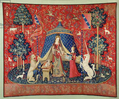 The Lady and the Unicorn: 'To my only desire' (tapestry)