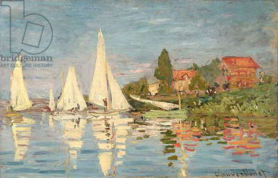 Regatta at Argenteuil, c.1872 (oil on canvas)