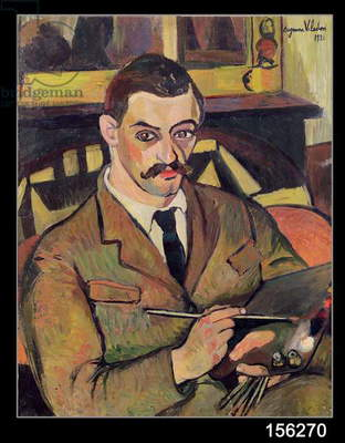 Portrait of Maurice Utrillo (1883-1955) 1921 (oil on canvas)