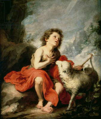 St. John the Baptist as a Child, c.1665 (oil on canvas)