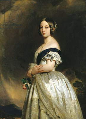 Queen Victoria (1819-1901) 1842 (oil on canvas)