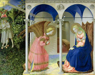 The Annunciation, 1426 (tempera and gold on panel)