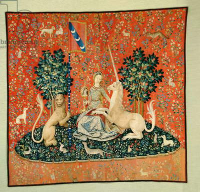 The Lady and the Unicorn: 'Sight' (tapestry)