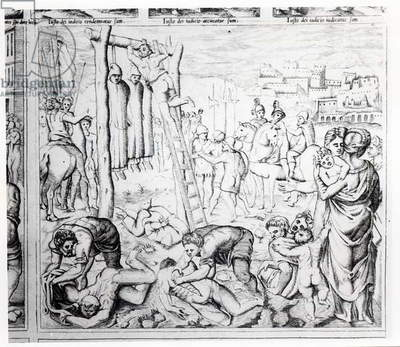Martyrdom of the Carthusians (engraving)