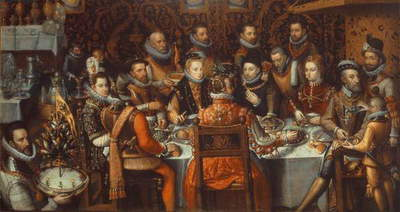 The Banquet of the Monarchs, c.1579 (oil on canvas)