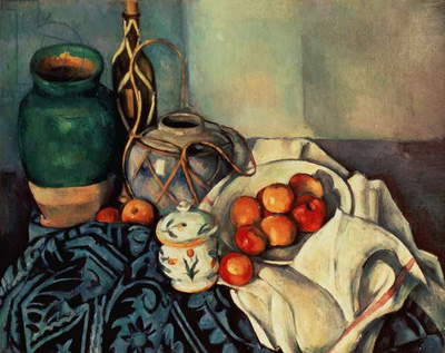 Still Life with Apples, 1893-94 (oil on canvas)