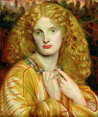 Helen of Troy, 1863 (oil on panel)
