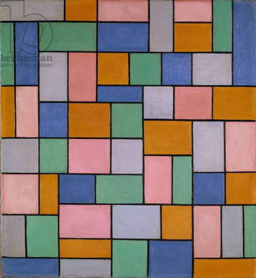Composition in Dissonances, 1919 (oil on canvas)