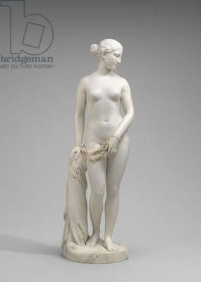 The Greek Slave, 1841-46 (marble)