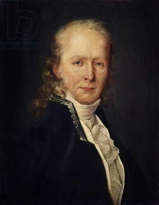 Portrait of Benjamin Constant (oil on canvas)
