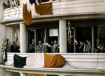 Speech of De Gaulle in Algiers June 4, 1958 during The War in Algeria (photo)
