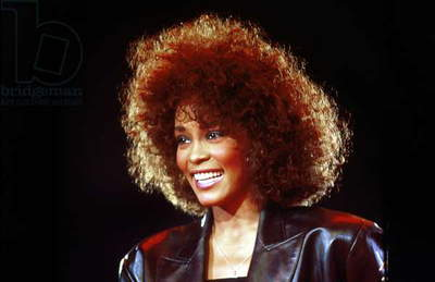 American Singer Whitney Houston June 1988 (photo)