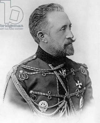 Grand Duke of Russia Nicolas Nicolaievitch Romanov (1831-1891) uncle of czarNicolasII c. 1885