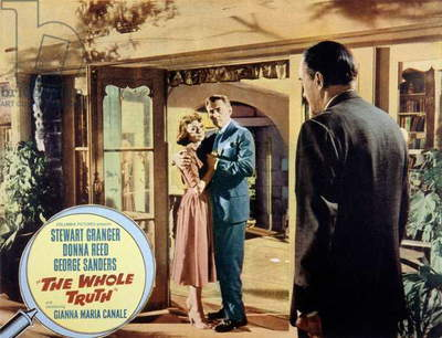 The whole truth de DanCohen et JohnGuillermin avec Stewart Granger et Donna Reed 1958