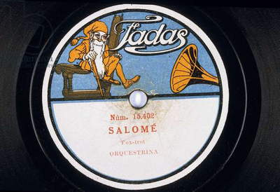 Disque vinyl : Salome Fox-)trot Orquestrina