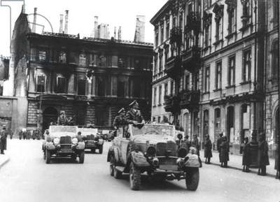 Adolf Hitler in Warsaw on October 5, 1939