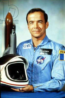 French Astronaut Patrick Baudry here at Nasa Center 1985 (photo)