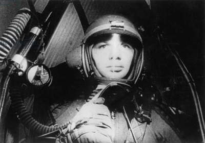 Yuri Gagarin (1934-1968) Russian Astronaut here during A Spatial Flight April 1961 (b/w photo)