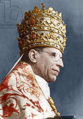 Pope Pius Xii (Eugenio Pacelli, Pope in 1939-1958) C. 1939 (photo)