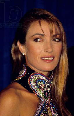 Actress Jane Seymour at Emmy Awards, 1991 (photo)
