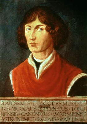 Portrait of Andreus Nikolaus Copernicus (1473-1543) 1575 (oil on canvas)