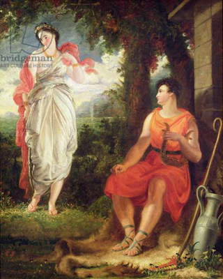 Venus and Anchises, 1826 (oil on canvas)
