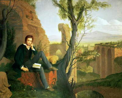Percy Bysshe Shelley (1792-1822) 1845 (oil on canvas)