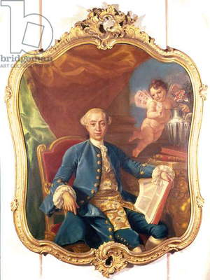 Giacomo Casanova (1725-98) (oil on canvas)