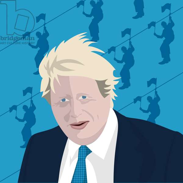 Boris Johnson and the zip wire