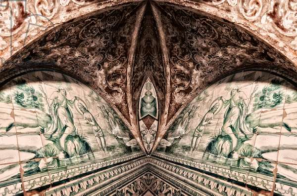 Crypt Tiles, 2015 (digital image)
