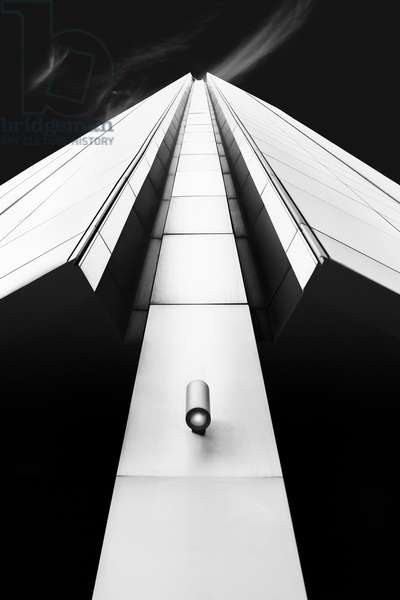 London Architecture Part 1, 2017, (Direct Print on Brushed Aluminium, BUTLERFINISH® Look)
