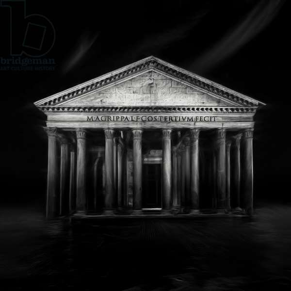 The Pantheon, 2017, (Direct Print on Brushed Aluminium, BUTLERFINISH® Look)